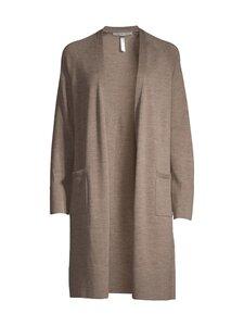 cut & pret - AIRY long cardigan -villaneuletakki - DK TAUPE MEL 185370 | Stockmann