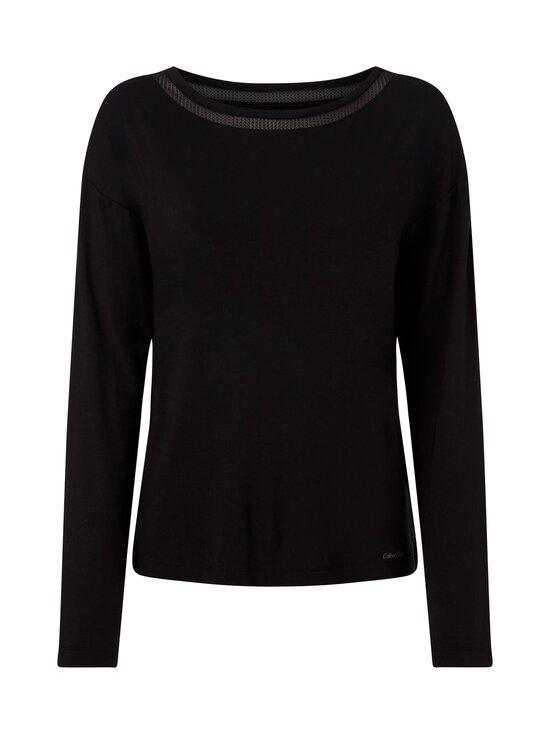 Calvin Klein Underwear - Long Sleeve Wide Neck -paita - UB1 BLACK | Stockmann - photo 1