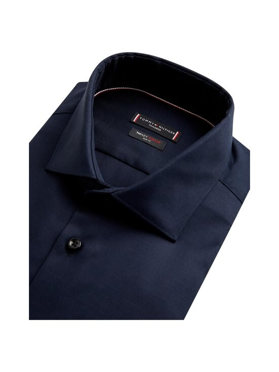 TH Flex Collar Slim Fit Twill -kauluspaita