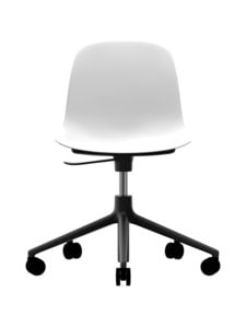 Normann Copenhagen - Form Swivel -tuoli - VALKOINEN/MUSTA   Stockmann