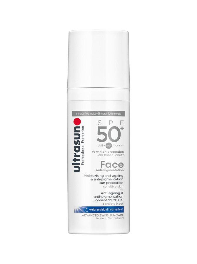 Face Anti-Pigmentation SPF 50+ -aurinkosuojavoide kasvoille 50 ml
