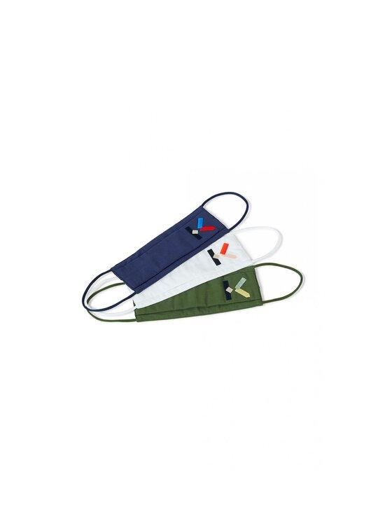 Kenzo - KENZO Logo -kangasmaski 3 kpl - MULTICOLOR   Stockmann - photo 1