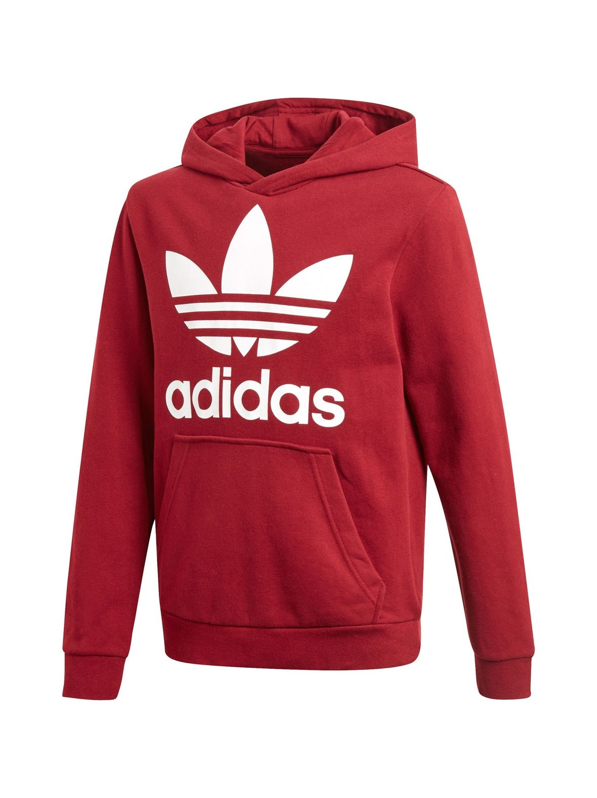Burgundy (punainen) Adidas Originals Trefoil-huppari CD6501  da995c6aac