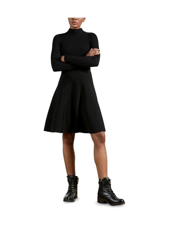 Ted Baker London - Josey Button Detail Skater Dress -mekko - 00 BLACK   Stockmann - photo 2