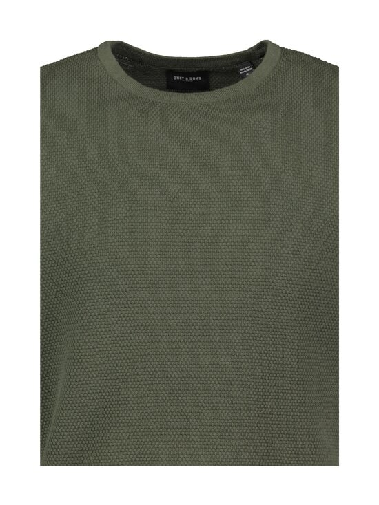 Only & Sons - OnsPanter Life 12 Struc Crew Knit -puuvillaneule - DEEP DEPTHS   Stockmann - photo 3