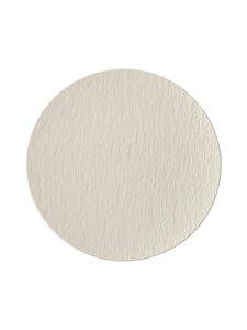 Villeroy & Boch - Manufacture Rock Blanc -lautanen 25 cm - WHITE   Stockmann