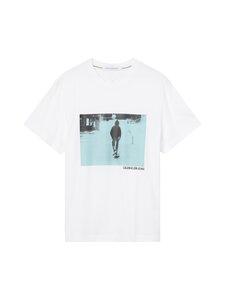 Calvin Klein Jeans - URBAN SKATER BOX -paita - YAF BRIGHT WHITE   Stockmann
