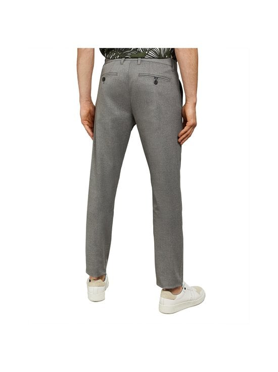 Ted Baker London - Seyii Slim Fit Plain -housut - 05 GREY | Stockmann - photo 5