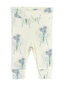 Mini Rodini - Winterflowers-leggingsit - 060 BLUE   Stockmann