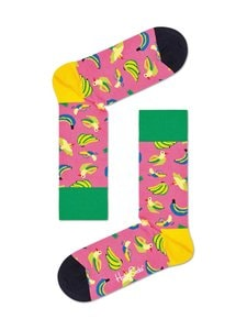 Happy Socks - Banana Bird -sukat - 3300-PINK | Stockmann