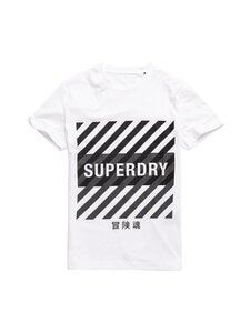 Superdry Sport - Training Coresport Graphic Tee -paita - 01C OPTIC | Stockmann