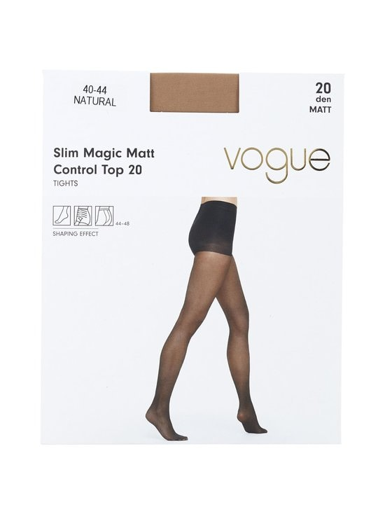 Vogue - Control Top Slim Magic -sukkahousut 20 den - NATURAL (BEIGE) | Stockmann - photo 1
