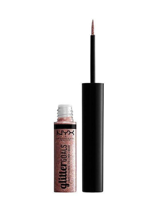 NYX Professional Makeup - Glitter Goals Liquid Eyeliner -nestemäinen silmänrajauskynä 4 ml - 04 CRYSTAL BALL   Stockmann - photo 1