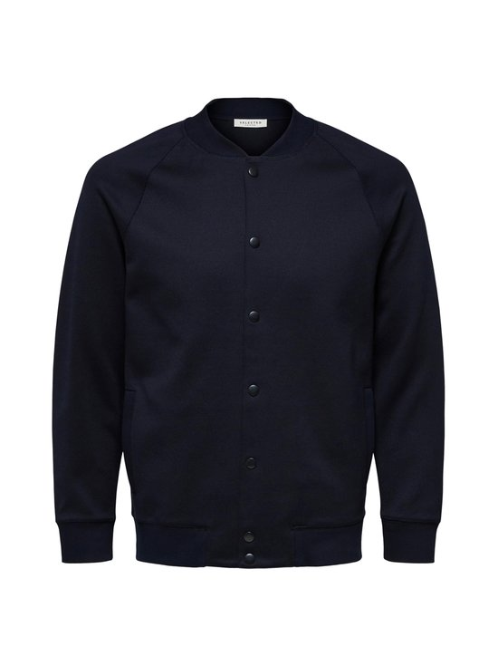 SlhShayne Bomber Sweat Jacket -collegetakki