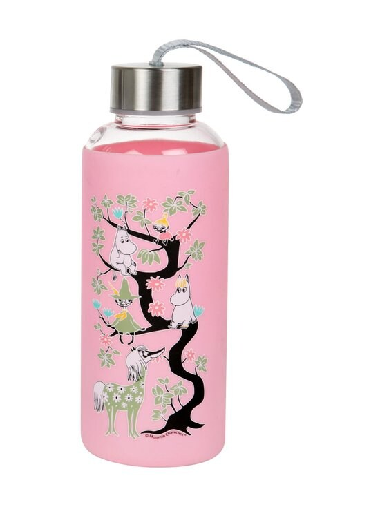 Moomin - Kiipeilypuu-juomapullo 0,45 l - PINK | Stockmann - photo 1