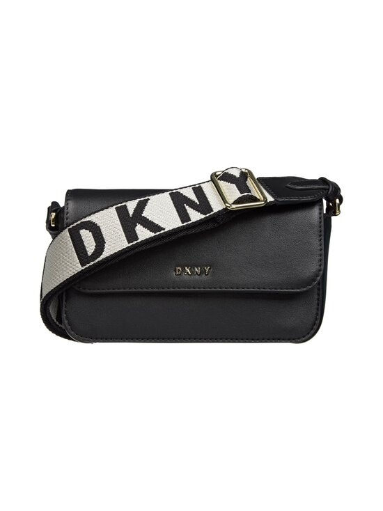 Dkny - WINONA flap CROSSBODY -nahkalaukku - BGD - BLK/GOLD | Stockmann - photo 1