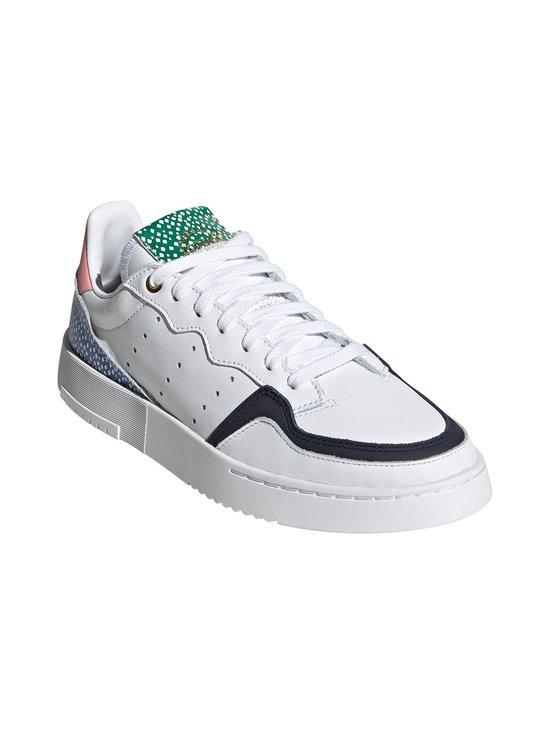 adidas Originals - W Supercourt -nahkasneakerit - CLOUD WHITE/LEGEND INK/GLOW PINK | Stockmann - photo 4