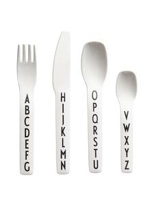Design Letters - Kids Cutlery -aterinsetti - VALKOINEN | Stockmann