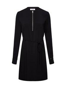 Calvin Klein Womenswear - Tracel Crepe Zip Detail -mekko - BDS CALVIN BLACK | Stockmann