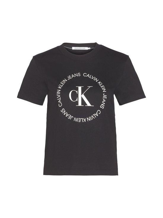 Calvin Klein Jeans Plus - Plus Size Straight Logo Tee -paita - BAE CK BLACK | Stockmann - photo 1