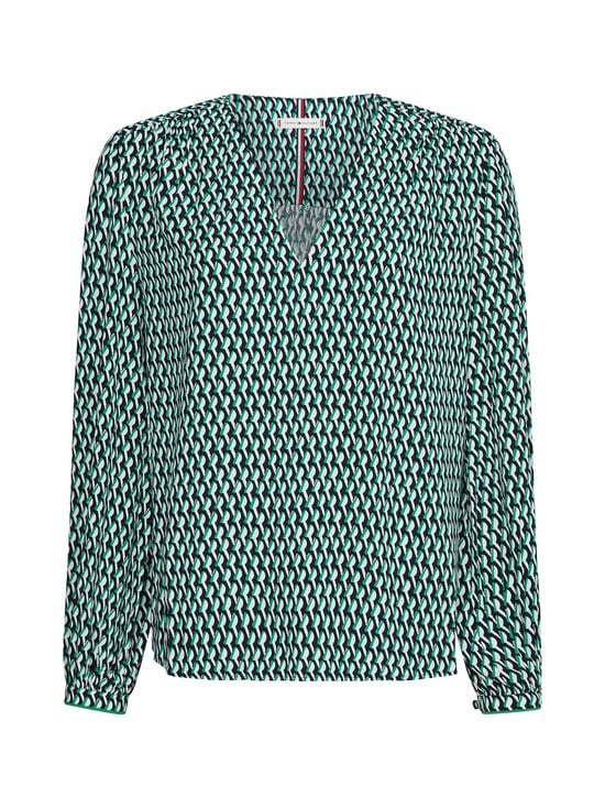 Tommy Hilfiger Curve - Pusero - 0H9 COURT SIDE GEO / PRIMARY GREEN | Stockmann - photo 1