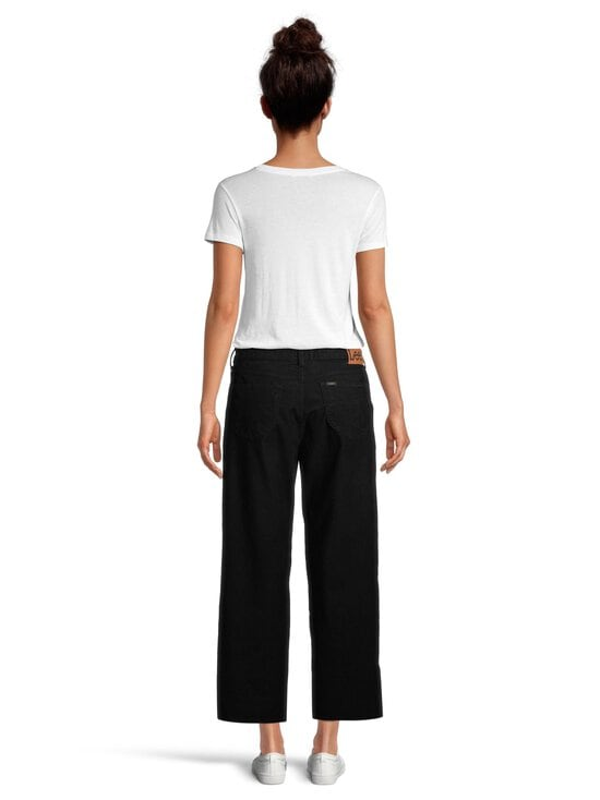 Lee - Wide Leg Corduroy -vakosamettihousut - BLACK | Stockmann - photo 3