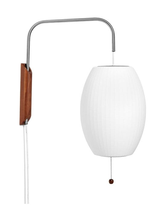 HAY - Nelson Cigar Wall Sconce Cabled S -seinävalaisin - WHITE   Stockmann - photo 1