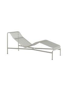HAY - Palissade Chaise Longue -lepotuoli 65,5 x 70 x 164,5 cm - SKY GREY | Stockmann