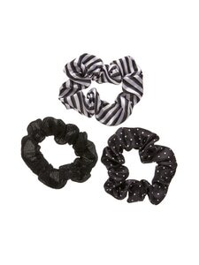 A+more - Crunchie-hiusdonitsi 3 kpl - BLACK COMBO   Stockmann