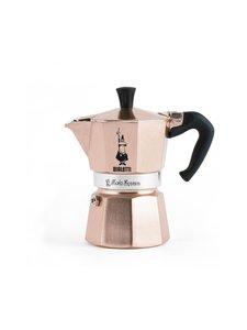 Bialetti - 3 kupin Moka Express -espressokeitin - ROSEGOLD | Stockmann