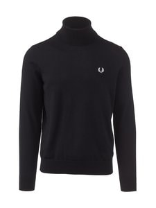 Fred Perry - Roll Neck Jumper -neule - 102 BLACK | Stockmann