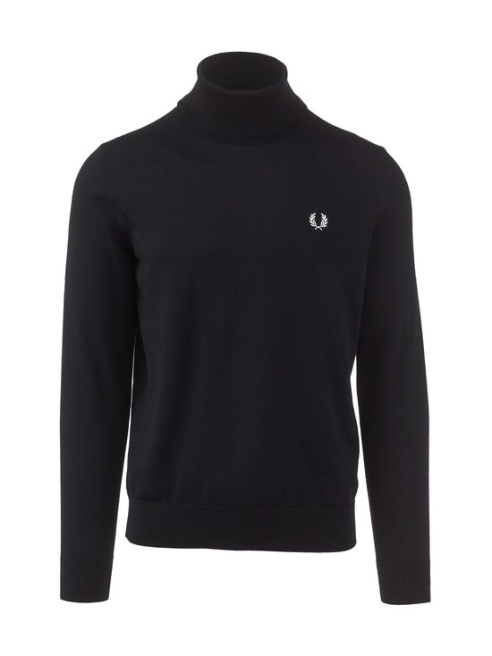 Fred Perry - Roll Neck Jumper -neule - 102 BLACK | Stockmann - photo 1