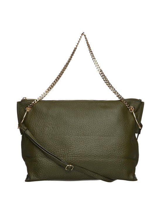 A+more - Adri Crossbody -nahkalaukku - GREEN | Stockmann - photo 1