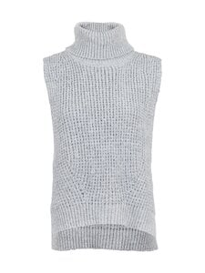 Neo Noir - Jamie Knit Waistcoat -neuleliivi - GREY MELANGE 133 | Stockmann