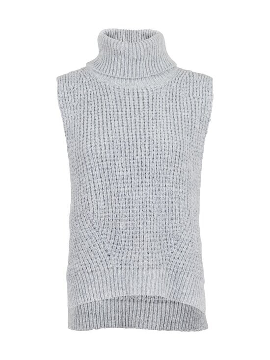 Neo Noir - Jamie Knit Waistcoat -neuleliivi - GREY MELANGE 133 | Stockmann - photo 1