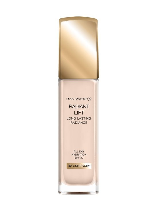 Max Factor - Radiant Lift Foundation -meikkivoide 30 ml - 40 LIGHT IVORY | Stockmann - photo 1