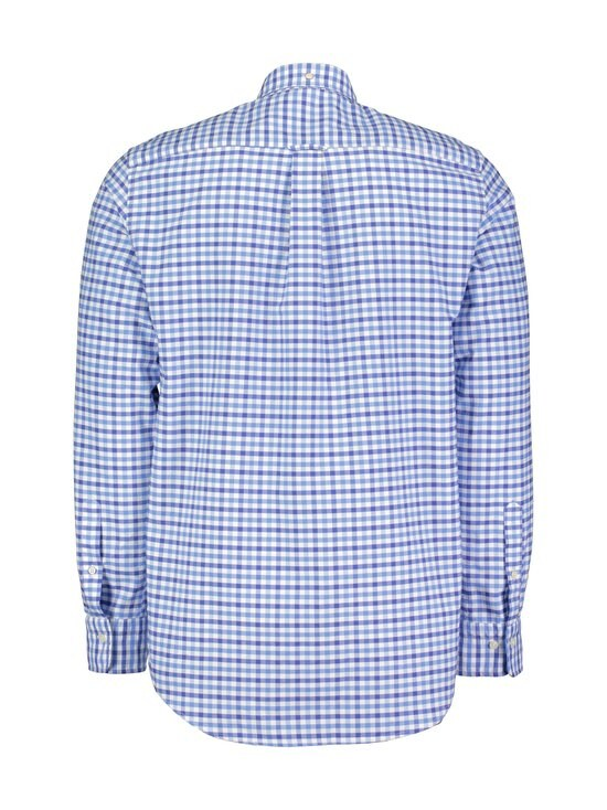 GANT - The Oxford Gingham Regular -kauluspaita - 445 PACIFIC BLUE | Stockmann - photo 2