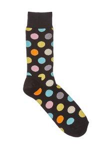 Happy Socks - Big Dot -sukat - MUSTA | Stockmann