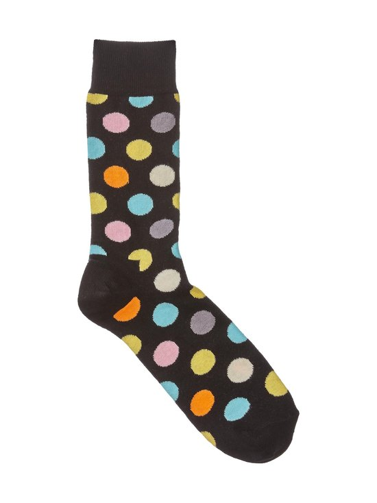 Happy Socks - Big Dot -sukat - MUSTA | Stockmann - photo 1