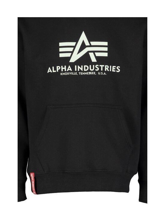 Alpha Industries - Basic Kryptonite Hoody -huppari - 03 BLACK | Stockmann - photo 3