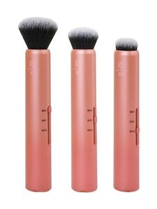 Real Techniques - Real Techniques 1899M Slide Complexion- 3-in-1 Makeup Brush -meikkisivellin - null | Stockmann