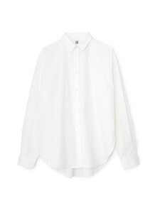 Totême - Signature Cotton -pusero - WHITE | Stockmann