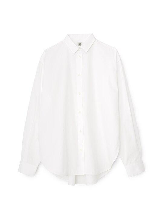 Totême - Signature Cotton -pusero - WHITE   Stockmann - photo 1