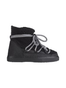INUIKII - Sneaker Curly -nahkanilkkurit - BLACK   Stockmann