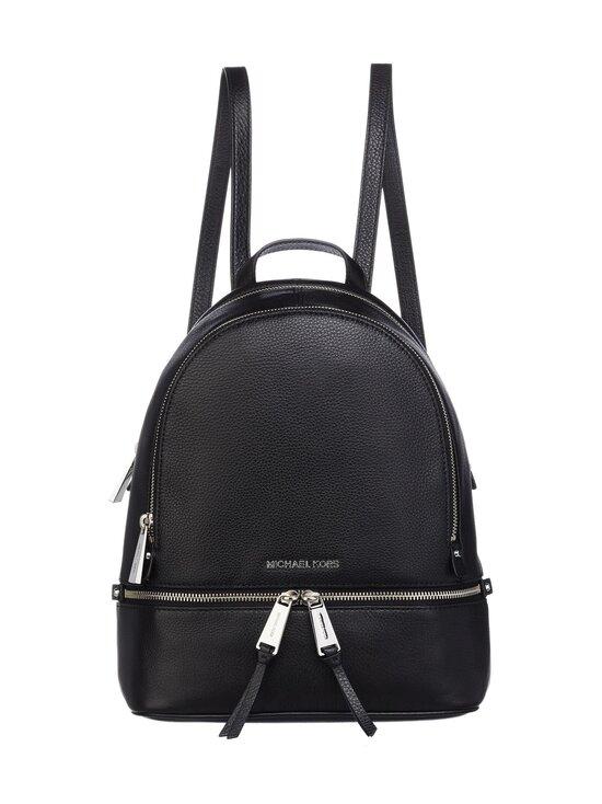 Michael Michael Kors - Rhea Medium Leather Backpack -nahkareppu - 001 BLACK | Stockmann - photo 1