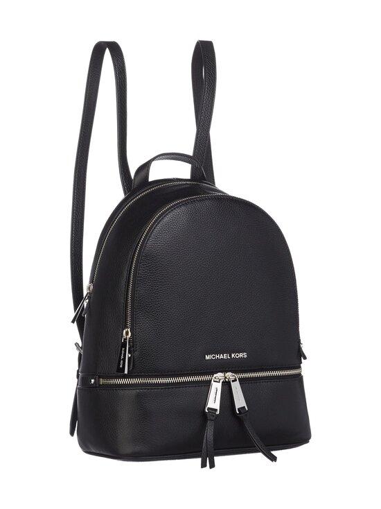 Michael Michael Kors - Rhea Medium Leather Backpack -nahkareppu - 001 BLACK | Stockmann - photo 2