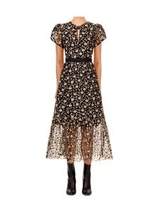 Self-Portrait - Mesh Sequin Midi -mekko - MULTI | Stockmann