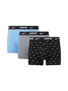 Nike - Bokserit 3-pack - 9JI SWOOSH PRINT/GREY/UNI. BLUE | Stockmann