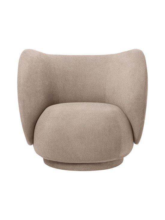 Ferm Living - Rico Lounge Chair Bouclé -nojatuoli - SAND | Stockmann - photo 1