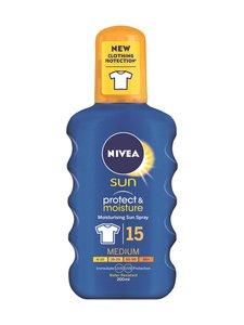 NIVEA - Protect & Moisture Sun Spray SK15 -aurinkosuojasuihke 200 ml - null | Stockmann